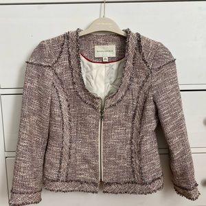 Pretty tweed cropped jacket